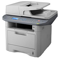Samsung SCX-4833FD Multifunction Laser Printer سامسونگ SCX 4833FD چهارکاره لیزری