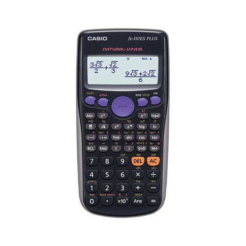 ماشین حساب کاسیو FX-350ESCasio FX-350ES Plus Calculator